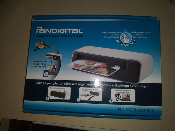 Pandigital Photo Slide And Negative Converter For Sale In Franklin
