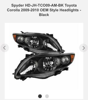 2010 Toyota Corolla headlights brand new for Sale in Amherst, VA