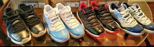 Air Jordan XI (11) Low Lot (Barons, UNC, Breds, Georgetown's) for Sale in Houston, TX