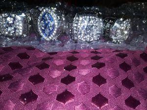Dallas Cowboys championship 4 piece ring set for Sale in Washington, DC