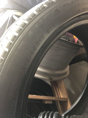 P225/45 r17 tires used Bridgestone for Sale in Herndon, VA