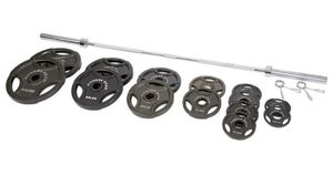 Photo Fitness Gear 300 lb. Olympic Weight Set last set