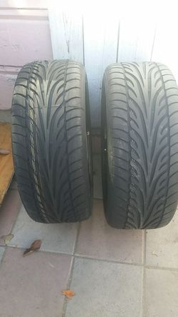 2 wheel with brand new tires Thumbnail
