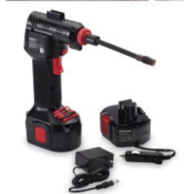Air walk cordless rechargeable tire inflator for Sale in New York ... d2546f27e2ce