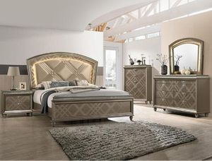 Photo Brand New Crown Mark Bedroom Set