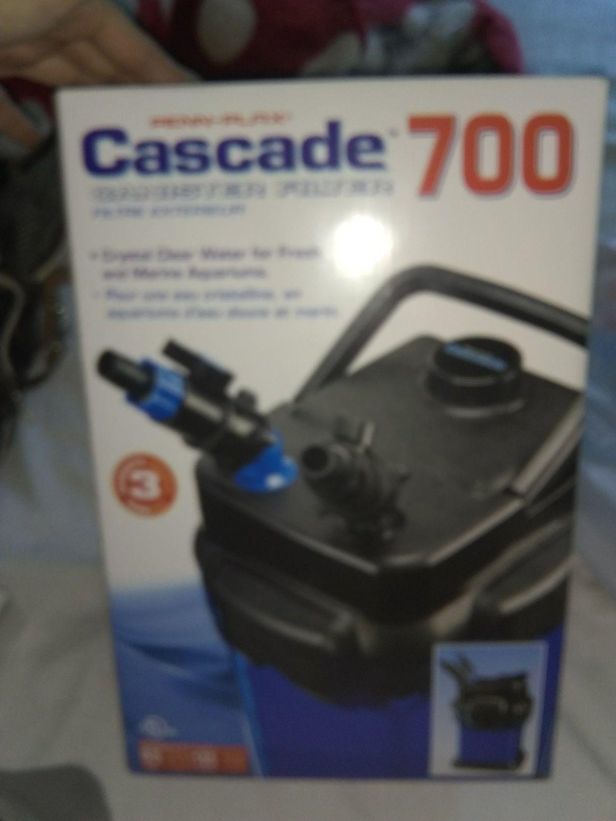 BRAND NEW CASCADE 700 EXTERNAL CANISTER FILTER