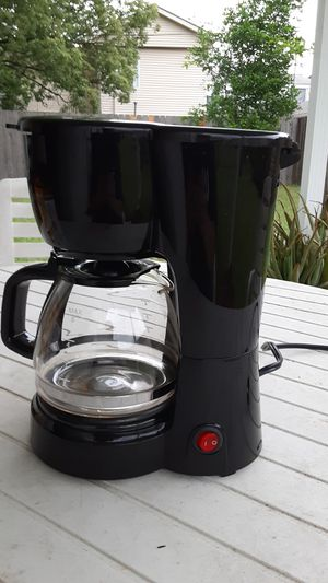 Photo 5 cup Small Coffee Pot