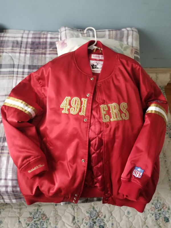 reputable site 2ba15 b05c2 Mitchell & Ness SF 49ers Tailored Jacket for Sale in San Francisco, CA -  OfferUp