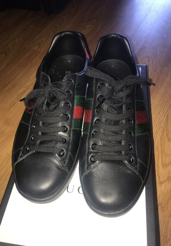2124eaed52f Gucci Ace Black Sneakers for Sale in Aventura