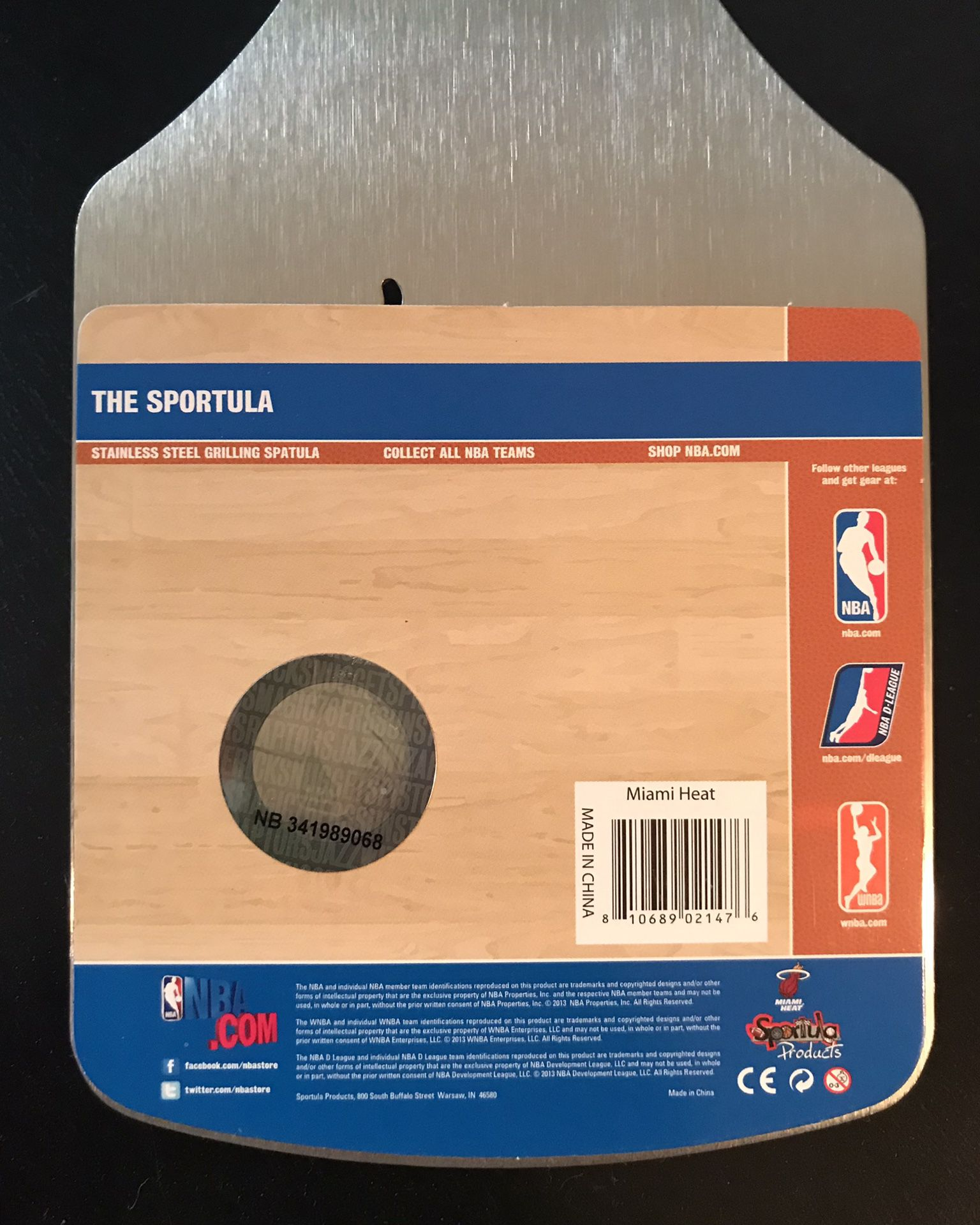 Miami Heat Sportula - NBA licensed spatula bottle opener Sold out online