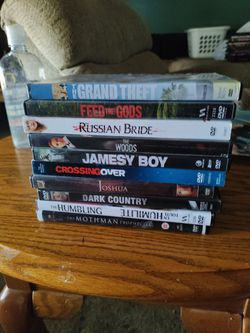 25 FREE DVD-    Movies W/Purchase Of Album ( pick. Up Only Thumbnail