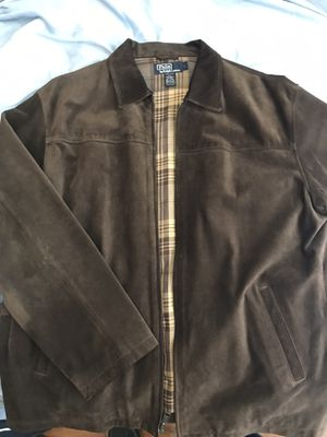 Photo Ralph Lauren Brown suede leather jacket