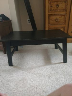 Wood coffee table for Sale in Herndon, VA