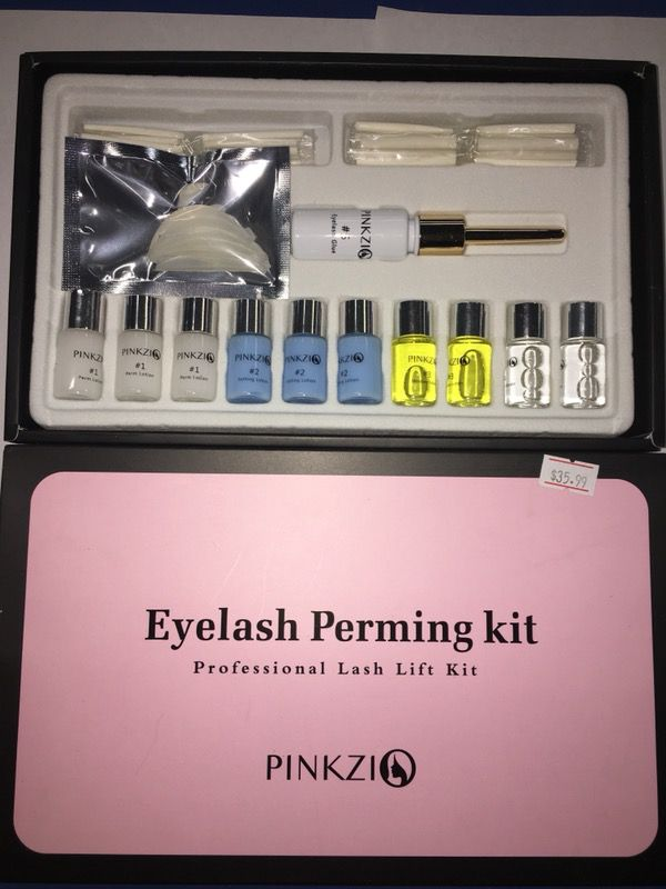 Pinkzi Eyelash Perming Kit For Sale In Opa Locka Fl Offerup