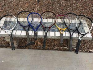 5 tennis racquets 2 Racquet ball racquet for Sale in Phoenix, AZ