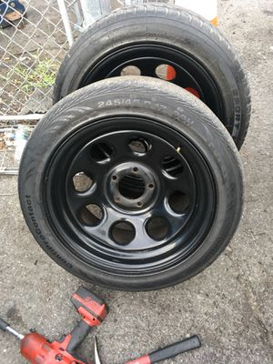 Rally rims and tires for Sale in Fort Washington, MD