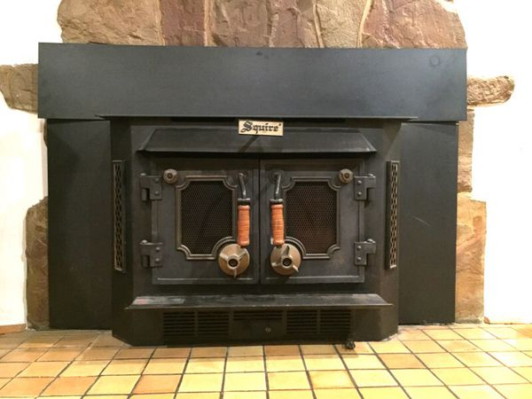 Squire Wood Burning Fireplace Insert For Sale In San Jose