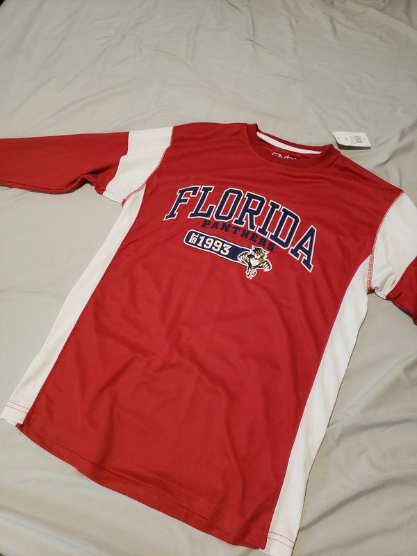 sale retailer 63814 bec23 long sleeve florida panthers shirt (medium) for Sale in ...