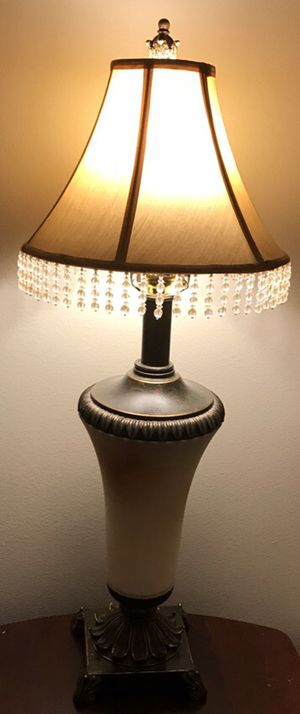 Beautiful lamp will go with any decor/ moving out sell. Price dropped for Sale in Herndon, VA