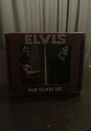 Collectible Elvis Glass Set for Sale in North Little Rock, AR