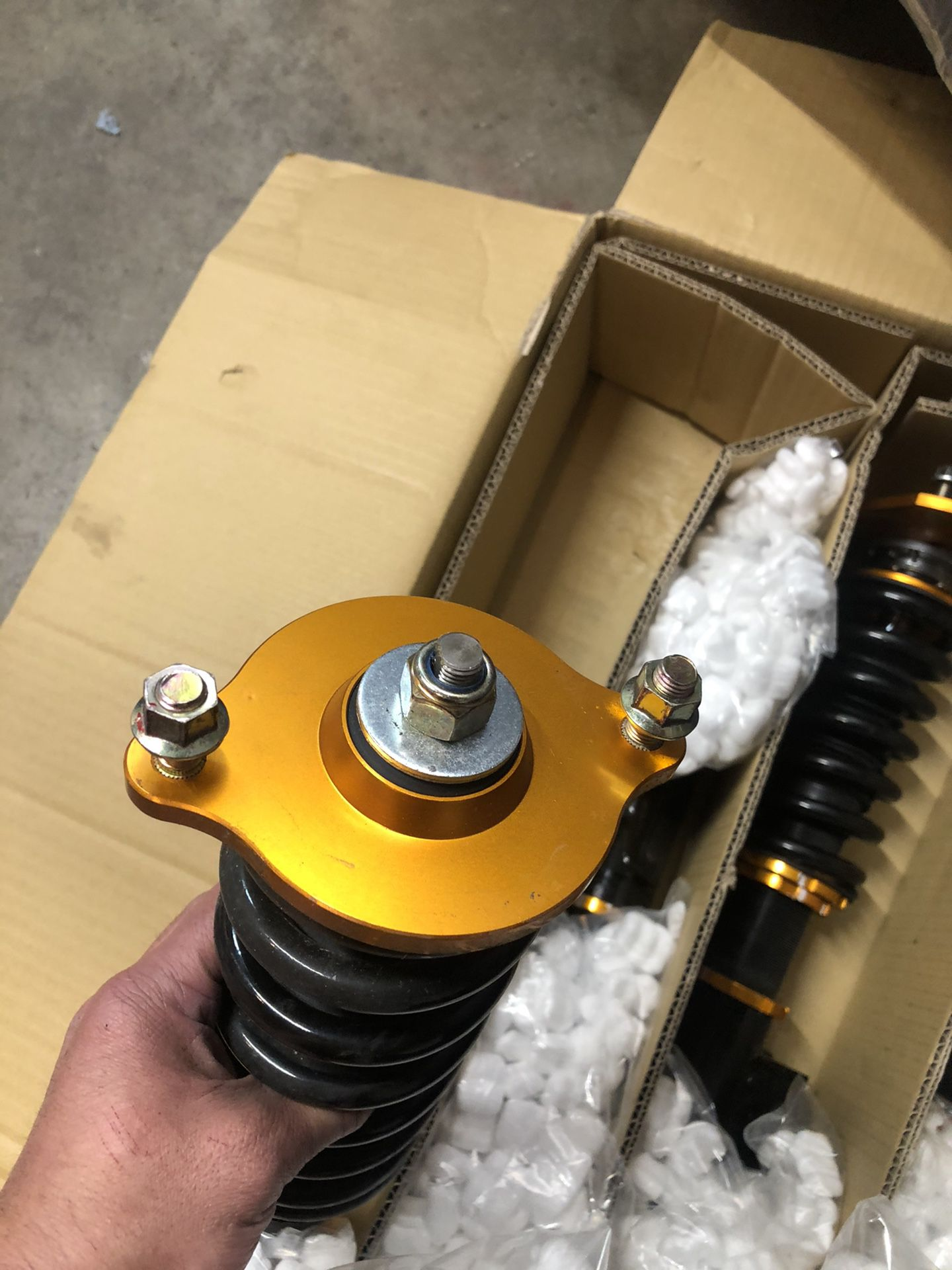 """Adjustable Coil Overs """"max Speed"""""""