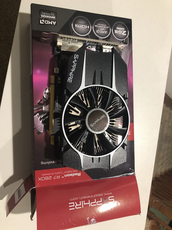 AMD Radeon R7 260x gaming computer graphics card for Sale in Beaumont, CA -  OfferUp