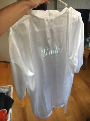 Bride silky robe for Sale in Chicago, IL