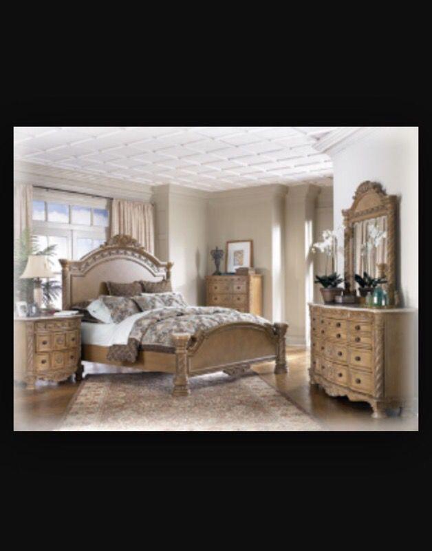 Ashley Furniture Marble Top King, Ashley Furniture South Coast Bedroom Set