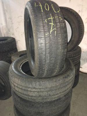 275/55/20 Bridgestone used tires for Sale in Boston, MA