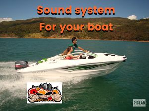 Sound system for boat for Sale in Kissimmee, FL