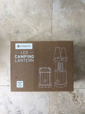 LED Camping Lanterns (2) for Sale in Miami, FL