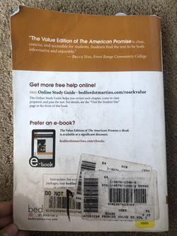 The American promise volume 1 Thumbnail