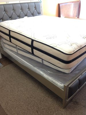 Photo 🚚MATTRESS SALE BRAND NEW TWIN SIZE $90 FULL SIZE $190 QUEEN STARTING FROM $190 AVAILABLE FINANCE NO CREDIT NEEDED IN D'FURNITURE STORE WE DELIVERY 📦