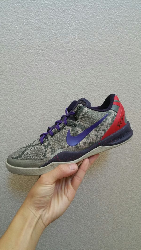 sale retailer fcde4 d2909 SiZE 7.5 MEN nike kobe 8 elite retro mine grey ad nxt 360 basketball shoe