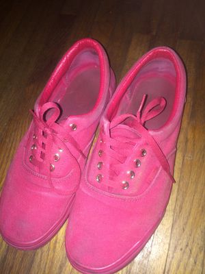 16e3cf3384fe5b Red vans size 9 men for Sale in Hialeah