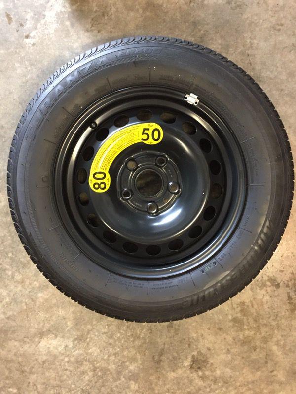 2005 2014 Oem Vw Jetta Full Size Spare Tire 195 65r15 Bridgestone