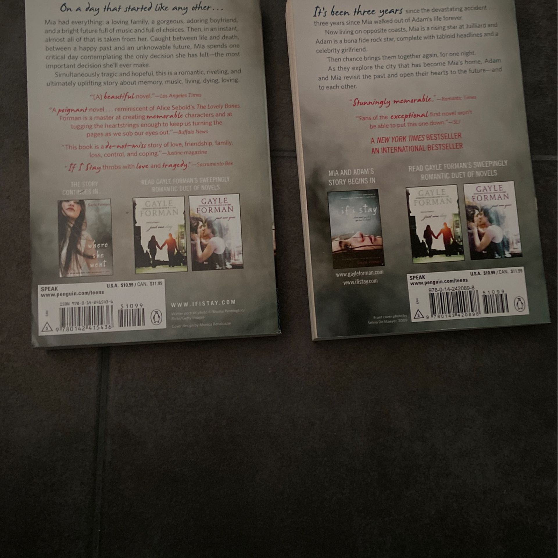 If I Stay Series (New)