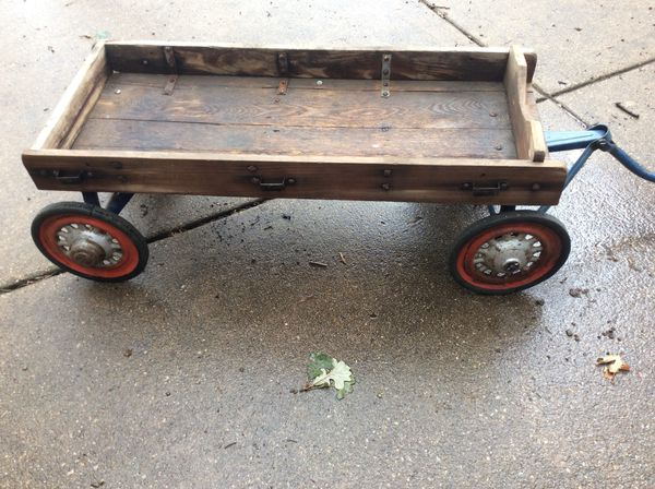 Antique 1920s Hamilton Childs Wooden Wagon For Sale In Pleasant Prairie Wi Offerup