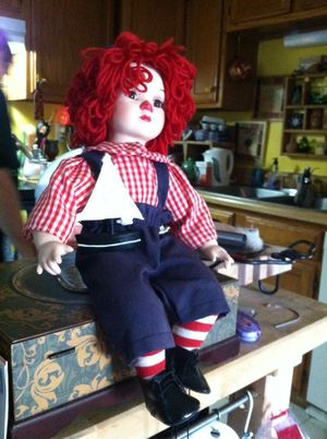 Clown porcelain doll for Sale in Gaithersburg, MD