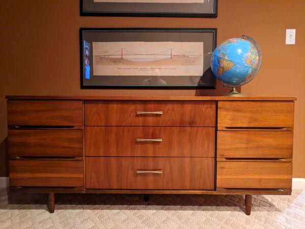 Mid Century Modern Dresser Harmony House Media Center For Sale In