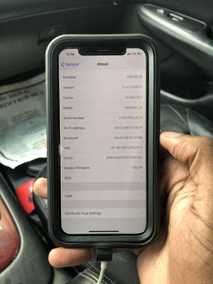 iPhone X paid off for with T-Mobile 256gbs for Sale in Washington, DC