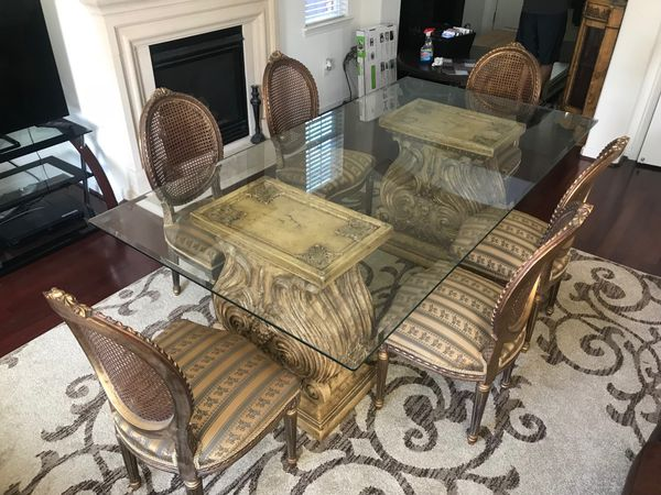 French antique dining room set for Sale in San Ramon, CA - OfferUp