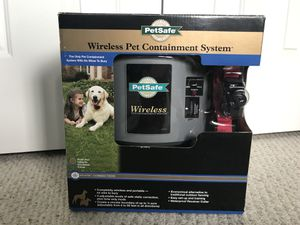PetSafe Wireless Pet Containment System (PIF-300) for Sale in Alexandria, VA