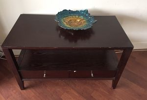 TV stand with 2 drawers storage. Fits my '50 inch TV for Sale in Alexandria, VA