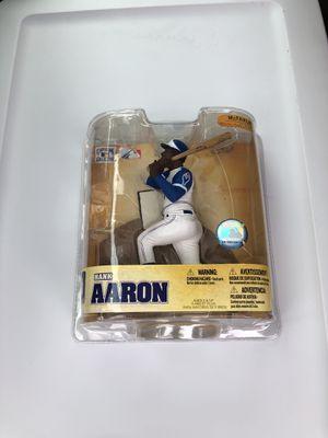 Hank Aaron McFarlane Figurine-Cooperstown Collection for Sale in Fairfax, VA