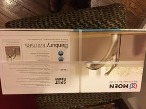 Moen pullout kitchen faucet gently used for Sale in Rockville, MD
