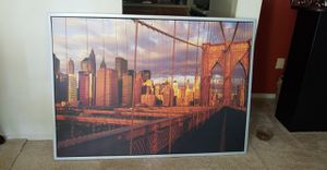 NYC ikea canvas picture for Sale in Annandale, VA