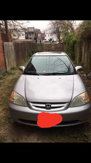 2001 Honda Civic EX for Sale in Washington, DC
