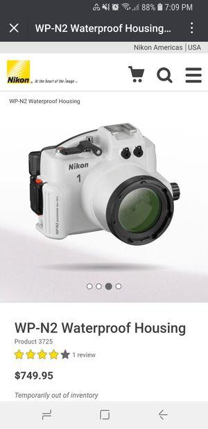 New in Box. Nikon WP-N2 Waterproof Case for Nikon 1 J3/S1 for Sale in San Francisco, CA