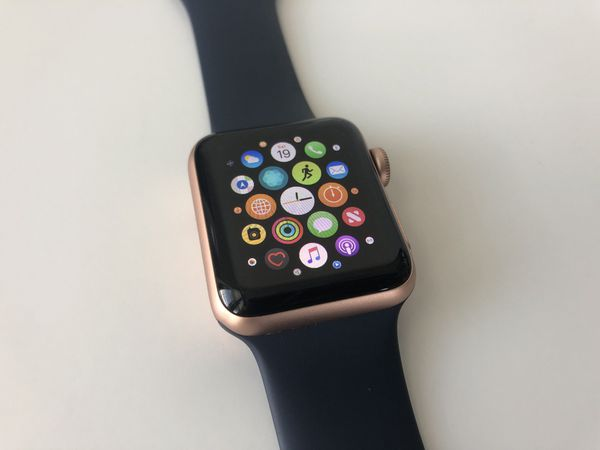 Apple Watch Series 3 Rose Gold 38mm Gps Lte Cellular Iwatch Pink